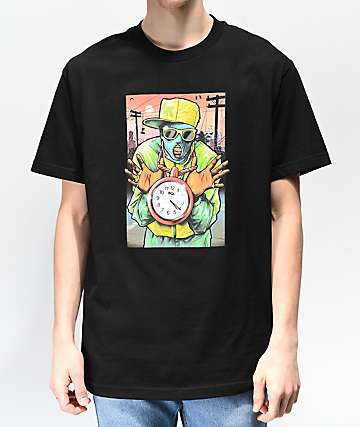 DGK Timepiece Black T-Shirt