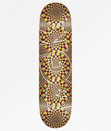 """DGK Trippy Logo 8.25"""" Skateboard Deck"""