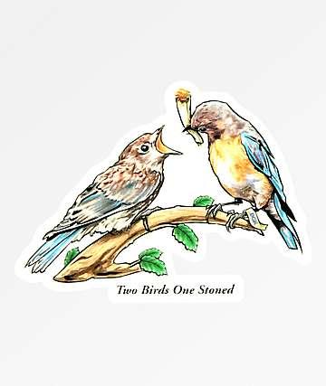 DGK Two Birds Sticker