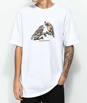 DGK Two Birds White T-Shirt