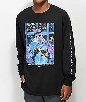 DGK Undercover Black Long Sleeve T-Shirt
