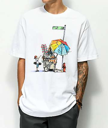 DGK Vendor camiseta blanca