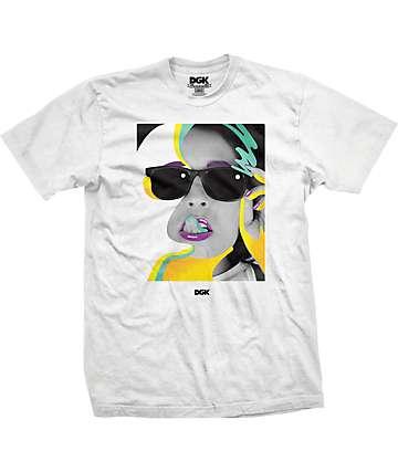 DGK Wavy White T-Shirt
