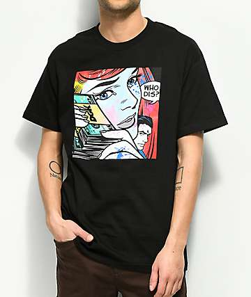 DGK Who Dis camiseta negra