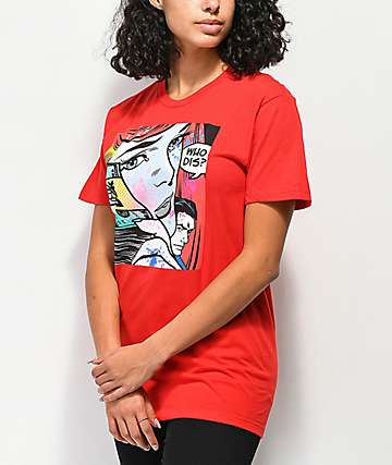 DGK Who Dis camiseta roja