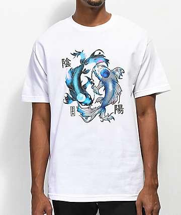 DGK Yin Yang White T-Shirt