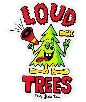 DGK pegatina Loud Tree