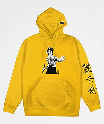 DGK x Bruce Lee Fierce Gold Hoodie