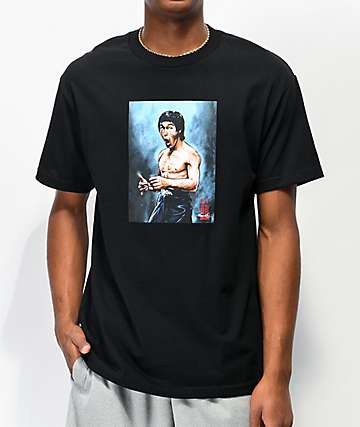 DGK x Bruce Lee Focused Black T-Shirt