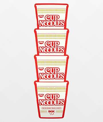 """DGK x Cup Noodles 9.38"""" Cruiser Skateboard Deck"""