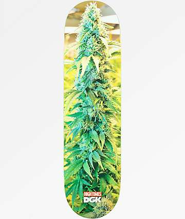 "DGK x High Times 8.25"" Skateboard Deck"