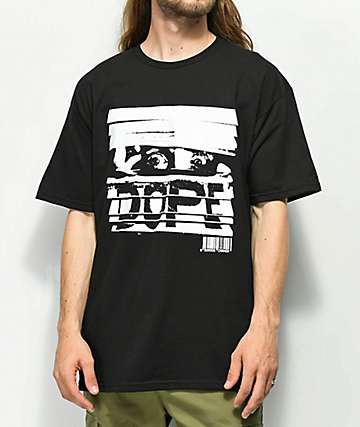 DOPE Don't Watch camiseta negra