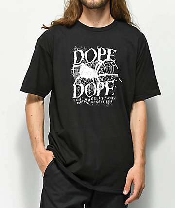 DOPE Web Black T-Shirt