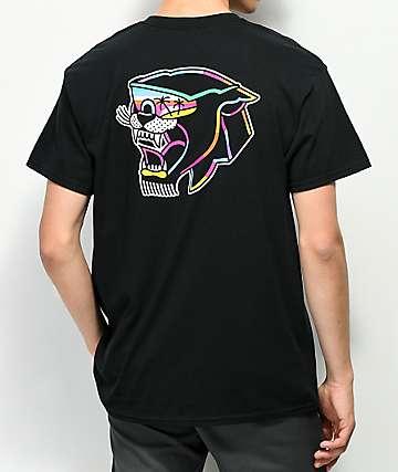 DROPOUT CLUB INTL. J. Cassina Panther camiseta negra