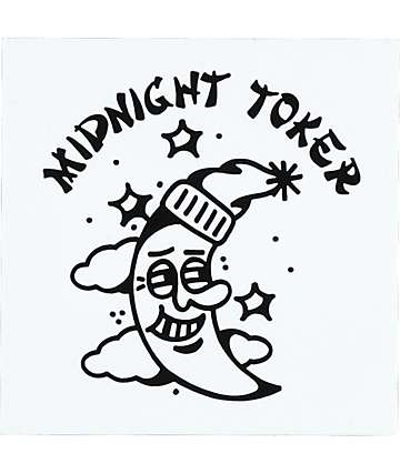 DROPOUT CLUB INTL. Midnight Toker Sticker