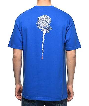 DROPOUT CLUB INTL. Rose Bone Thrower camiseta azul