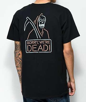 DROPOUT CLUB INTL. Sorry camiseta negra