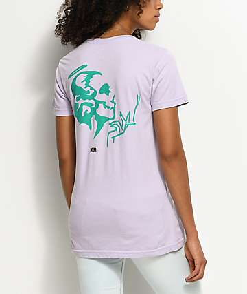 DROPOUT CLUB INTL. Violent Delights Lavender T-Shirt