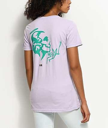 DROPOUT CLUB INTL. Violent Delights camiseta en color lavanda