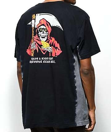 DROPOUT CLUB INTL. x Boss Dog Trip camiseta con efecto tie dye