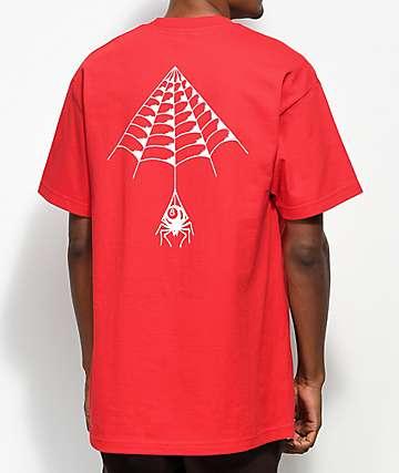 DROPOUT CLUB INTL. x Kyle Web Red T-Shirt