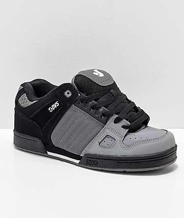 DVS Celsius Deegan Charcoal & Black Skate Shoes