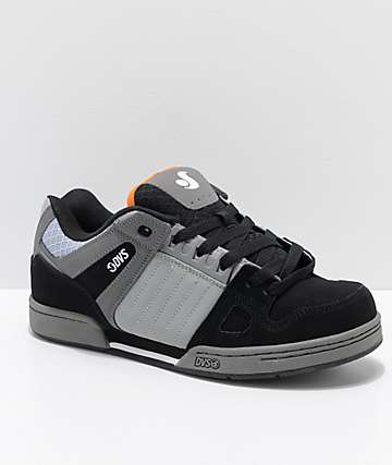 DVS Celsius zapatos de skate de nubuck en gris y negro