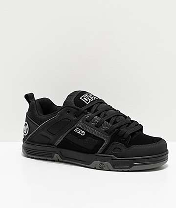 DVS Comanche All Black Skate Shoes