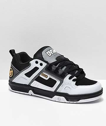 DVS Comanche zapatos de skate de nubuck en blanco y gris