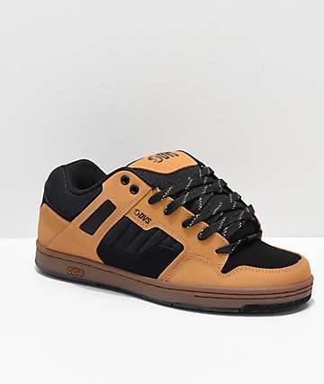DVS Enduro 125 Black & Chamois Skate Shoes