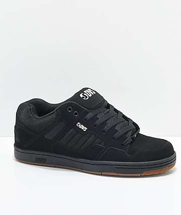 DVS Enduro 125 Black & Gum Skate Shoes