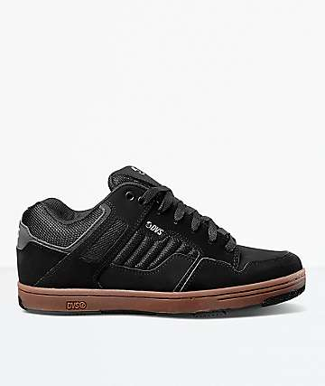 DVS Enduro 125 Black Nubuck & Gum Skate Shoes
