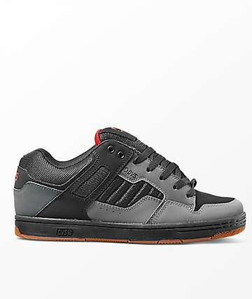 DVS Enduro 125 Charcoal & Black Nubuck Shoes