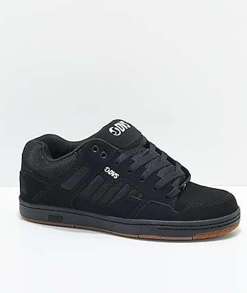 DVS Enduro 125 zapatos de skate en negro y goma