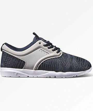DVS Kids Premier 2.0 Navy & Grey Mesh Shoes