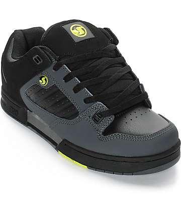 DVS Militia zapatos de skate en negro y gris