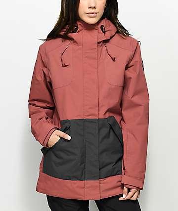Dakine Bijoux 10k chaqueta de snowboard en rosa quemado