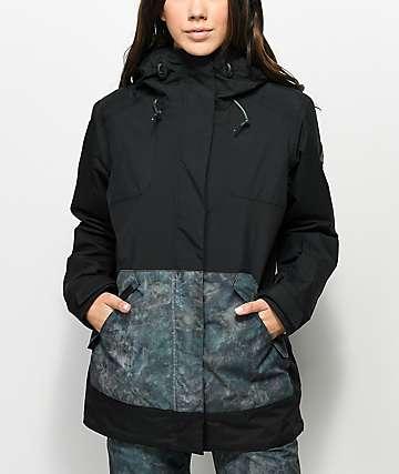 Dakine Bijoux Madison 10k chaqueta de snowboard en negro