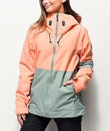 Dakine Coastal Juniper Melon 10K Snowboard Jacket