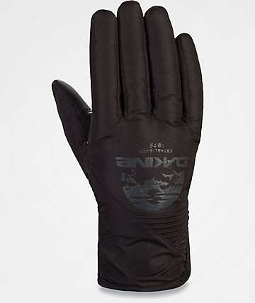 Dakine Crossfire Black Mountain Snowboard Gloves