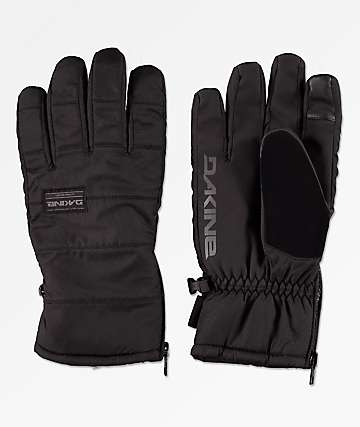 Dakine Omega Black & Grey Snowboard Gloves