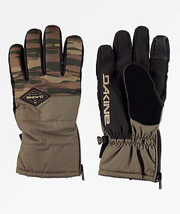 Dakine Omega Field Camo Snowboard Gloves