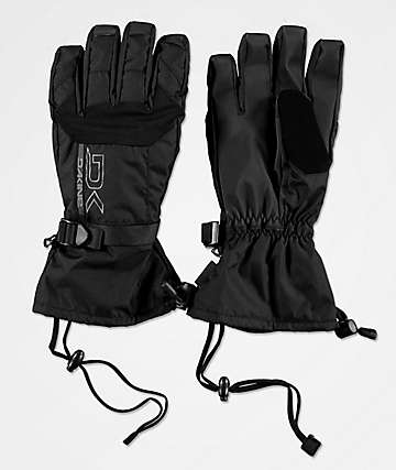 Dakine Scout All Black Snowboard Gloves