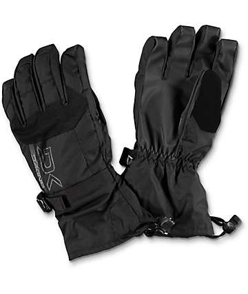 Dakine Scout Black Snowboard Gloves 2017