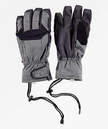 Dakine Scout Short Carbon Grey Snowboard Gloves