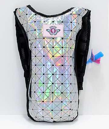 Dan-Pak Holographic Disco Hydration Backpack