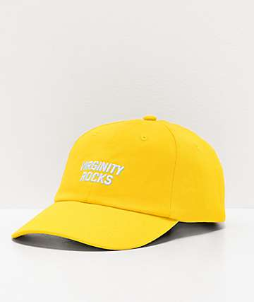 Danny Duncan Virginity Rocks Yellow Strapback Hat