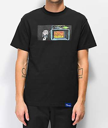 Danson Fire Filmer Black T-Shirt