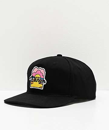 Danson Moon River Black Snapback Hat