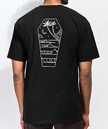 Dark Seas Casket Black T-Shirt